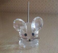 SWAROVSKI topo piccolo small mouse 010020 nuovo cristallo crystal