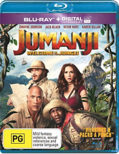 Jumanji - Welcome To The Jungle (2018) (Blu-ray) (Region A,B,C) New Release