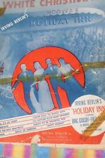 White Christmas Holiday Inn sheet music Irving Berlin, 1942