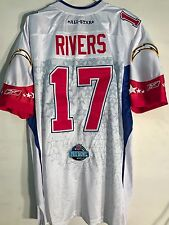 Reebok Authentic NFL Jersey Chargers Philip Rivers  White Pro Bowl sz 56