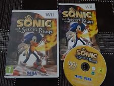 @ SONIC AND THE SECRET RINGS @ JEU NINTENDO WIICOMPLET AVEC NOTICE