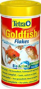 Mangime scaglie per pesci rossi con formula Tetra Bio Active, Barattolo 250 ml