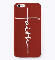 Vertical Faith Cross Christian Jesus Gift Phone Case iPhone