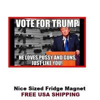 444 -Funny Donald Trump Refrigerator Toolbox Locker Magnet