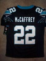 *IRREGULAR* Carolina Panthers CHRISTIAN McCAFFREY nfl NIKE Jersey Youth (s-small