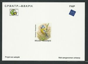 Belgium Non adopted proof - Bluetit - By A. Buzin. NA32 (2015)