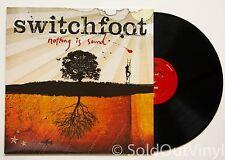 SWITCHFOOT Nothing Is Sound Vinyl LP hello hurricane beautiful letdown OOP rare