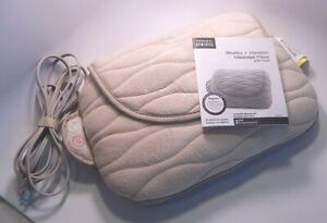 Homedics Shiatsu + Vibration Massage Pillow with Heat