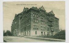 Mr Fancy Cancel Central HS Grand Rapids MI Kent City DPO 1909 Postcard #269