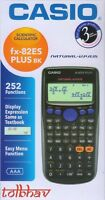 Casio FX-82ES Plus BK Scientific Calculator FX82 ES + Fx 82ES New Sealed in Box