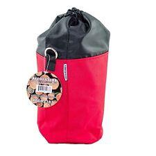 "Throw Line Bag Mini,6"" Round x 9"" High,Drawstring Top w/Carabiner Hoop"