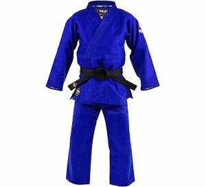 New Fuji Sports Mens Kids Womens Double Weave Judo Gi Kimono  - Blue