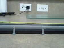 Gray Autoworld 14 inch Gaurd Rail fits Ho Slot Car Tracks Tomy Afx Aurora Tyco