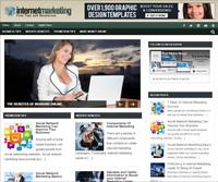 Internet Marketing PLR Niche Blog Wordpress Ready Made Website
