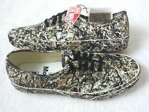 Vans x MoMA Mens Authentic Jackson Pollock Artwork Canvas Shoes Size 10.5 NIB
