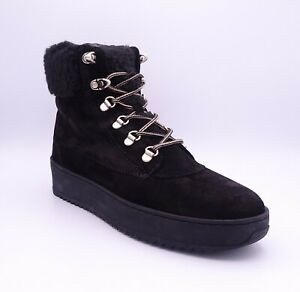 Marc O'Polo Women's Black Lace Up Suede Ankle Boots Size UK 6.5 EUR 40