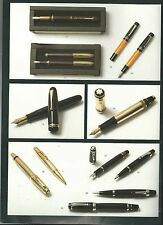 MASSOL PARIS PENS PENCILS Collection Faber Parker Montblanc Montegrappa Catalog