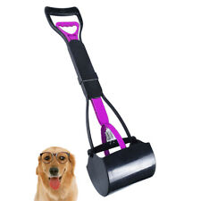 Pet Dog Waste Easy Clean Pickup Pooper Scooper Poo Remover Grab Colour- Pink