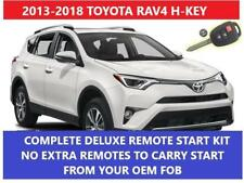 Fits:Toyota RAV4 H-KEY Plug & Play Remote Start Complete Kit 2013-2018
