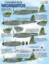 Canadian-Built DH Mosquitos: B Mk VII, XX, FB.26 (1/48 decals, Iliad 48023)
