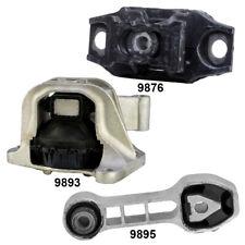 Engine Motor & Trans. Mount W. Torque Strut Mount 3Pcs Set for Fiat 500  12-18