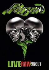 POISON - LIVE RAW AND UNCUT 2008 DVD AND CD SET REGION 1
