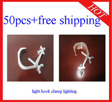 50pcs Light Hook DJ Stage Lighting Clamps Hanging Clamp Free Shipping