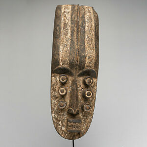 CK4 Grebo Glebo Maske Afrika Alt / Masque africain ancien / Old tribal mask
