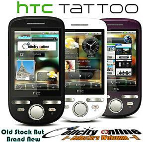 HTC TaTToo GSM Unlocked Android Phone, T-Mobile, MetroPcs, Lyca, Ultra, GoSmart.