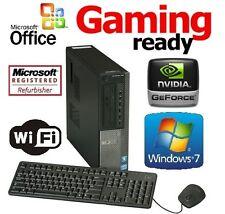 INTEL LGA1155 CORE I5 2400 CUSTOM DESKTOP PC FAST QUAD CORE COMPUTER SYSTEM WIFI