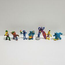 Vintage Muppets Applause PVC Sesame Street Lot of 7 Figures Cake Topper Big Bird