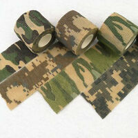 Army Camo Camouflage Wrap Tape Airsoft Rifle Outdoor Hunting Stealth 5cm x 4.5m