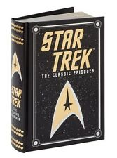 STAR TREK: THE CLASSIC EPISODES by James Blish ~SEALED LEATHERBOUND ~ BRAND NEW~