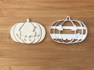 Halloween Uk Seller Plastic Biscuit Cookie Cutter Fondant Cake Decor Pumpkin N.5