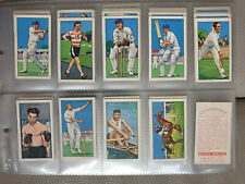 SET - GALLAHER 1935 cigarette tobacco cards CHAMPIONS 2ND SERIES SPORT