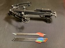 120LB Compound Pistol Crossbow (Up to 330FPS!) + Extra Carbon Arrows Std. Sized!