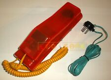 Telefono Fisso SWATCH TWIN PHONE Pink Jelly Traslucente anni '90 - USATO