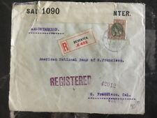 1916 Denveter Netherlands Censored Cover To San Francisco Bank USA