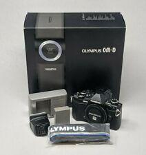 Olympus OM-D E-M5 Mark II 16.1MP Digital Camera - Black (Body Only)-READ DESCRIP