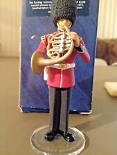 Scots Guard French Horn metal figurine hand painted Corgi United Kingdom ICON
