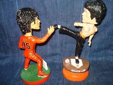 2 San Francisco Giants Bruce Lee bobblehead SGA 9-4-2012 & 7-7-2015 Bobble
