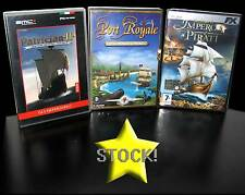 LOTTO STOCK 3 GIOCHI DI STRATEGIA PATRICIAN 2 PORT ROYALE NUOVI PC ITALY STOCK57
