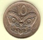 1979 NEW ZEALAND CIRCULATED 10 CENT COIN