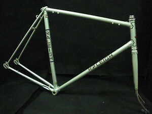 """Vintage Bicycle Race FRAME set 23,5"""" RALEIGH  Grand Prix for 27"""" wheel NOS 1978"""