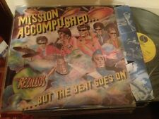 "REZILLOS SPANISH 12"" LP SPAIN MISSION ACCOMPLISHED NEW WAVE PUNK"