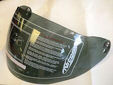 Original Nitro TINTE OSCURO Visera-X512-v cara abierta de casco de motocicleta Visera