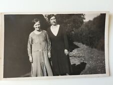 "Vintage Postcard Photograph - Real Persons - Unknown ""Ladies"""