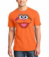 Sesame Street Zoe Face Adult T-Shirt