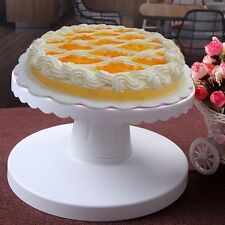CAKE TURNING TABLE * REVOLVING ROTATES TURNTABLE DECORATION ICING STAND DISPLAY