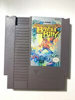 The Adventures of Bayou Billy ORIGINAL NINTENDO NES GAME Tested WORKING!